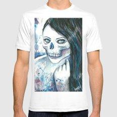 Skullgirl White MEDIUM Mens Fitted Tee