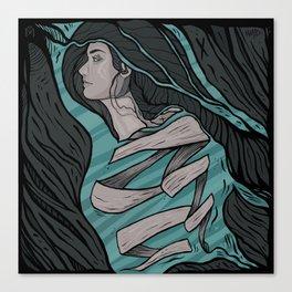 Dissoluzione Canvas Print