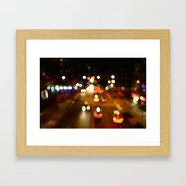 Chelsea Lights Framed Art Print