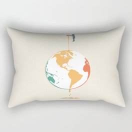 Fill your world with colors Rectangular Pillow