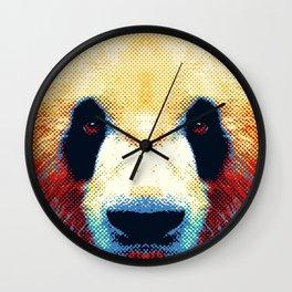 Panda - Colorful Animals Wall Clock