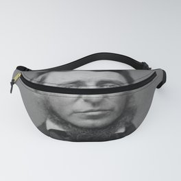 Benjamin Maxham - portrait of Henry David Thoreau Fanny Pack