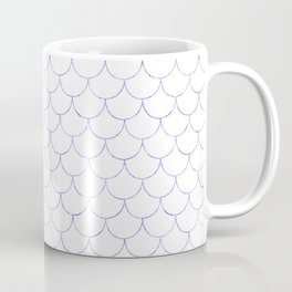 Mermaid Scales in Purple Coffee Mug