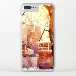 Żyrardów Clear iPhone Case