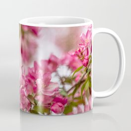 Bright Pink Crabapple Blossoms Coffee Mug