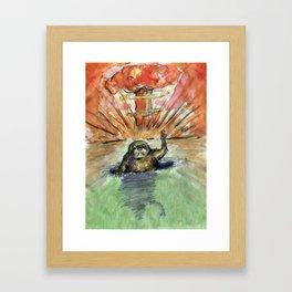 Groundhog's Day Framed Art Print