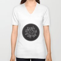 circle V-neck T-shirts featuring circle by aticnomar