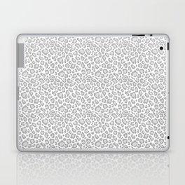 Grey Leopard Print Laptop & iPad Skin
