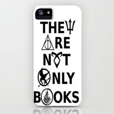 They Are Not Only Books iPhone (5, 5s) Slim Case