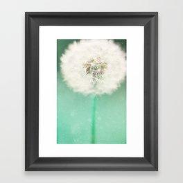Dandelion Seed Framed Art Print
