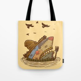 The Scarecrow Shark Tote Bag