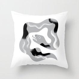 Snake Time Throw Pillow