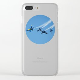 Blue Angels - 1 Clear iPhone Case