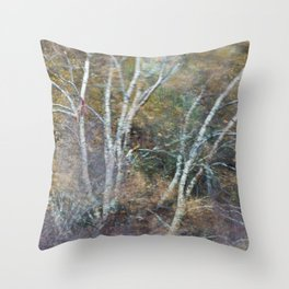 Autumnal Scotland Throw Pillow