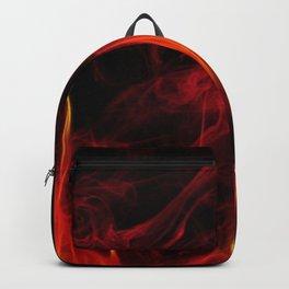 Feuer und Qualm Backpack