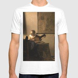 "Johannes Vermeer ""Woman with a Lute near a Window"" T-shirt"