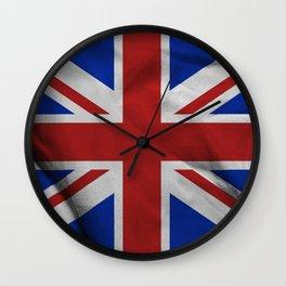 Great Britain flag Wall Clock