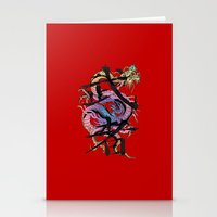 dragon Stationery Cards featuring Dragon by Spooky Dooky