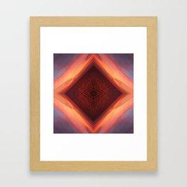 Sea Vortex Framed Art Print