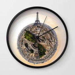 Around Paris - France Wall Clock