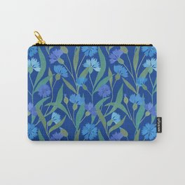 Cornflower field on bright blue Carry-All Pouch