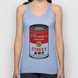 Campbells soup tribute Unisex Tank Top
