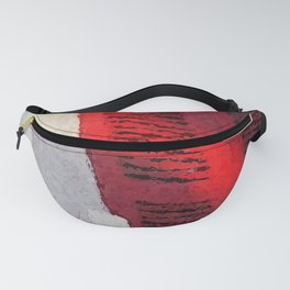 Basque Red in Sunlight Fanny Pack