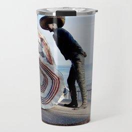 Puerto Vallarta, Mexico Sculpture by the Sea Travel Mug