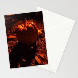 Lonely pumpkin Stationery Cards