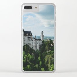 Castle dreaming Clear iPhone Case