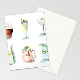 Cocktail season! Stationery Cards