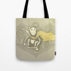 Fearless Creature: Chimpy Tote Bag