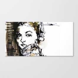look back Canvas Print