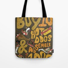 Its a Real Hot-Dog Tote Bag