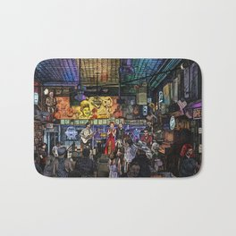 Moonshine and Country Rhymes Bath Mat