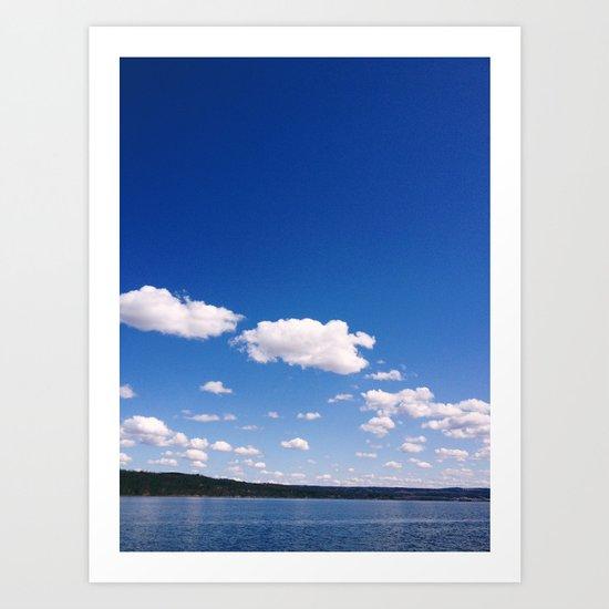 Lake Cayuga, NY Art Print