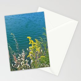 Summer at the lake Stationery Cards