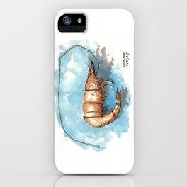 Mississippi Gulf Coast Shrimp iPhone Case