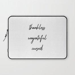 Thanklessgiving Laptop Sleeve