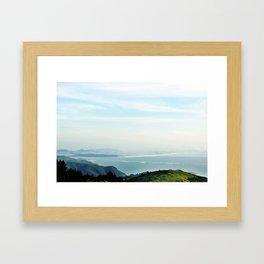 samuel p. taylor state park Framed Art Print