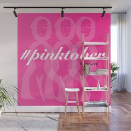 Pinktober Wall Mural