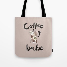 coffee babe Tote Bag