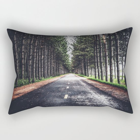 Road Rectangular Pillow
