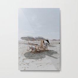 summer beach xxvi / miami beach, florida Metal Print