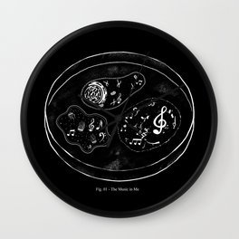 The Music in Me Wall Clock