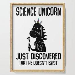 Unicorn science reality Kawaii Gift Serving Tray