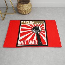 Japanese Propaganda Coffee Poster Rug