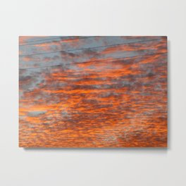 Catharsis in the Clouds Metal Print