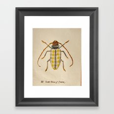 Urban Bug #3 Framed Art Print