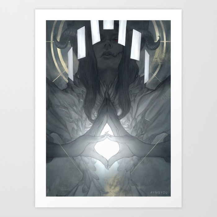 LILI Art Print